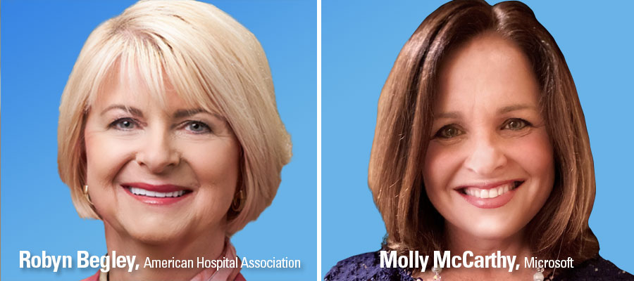Center Blog Robyn Begley and Molly McCarthy banner headshot