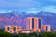 Intermountain Sells GPO as It Sharpens Focus. Intermountain Medical Center in Murray, Utah, with mountains visible in the background.