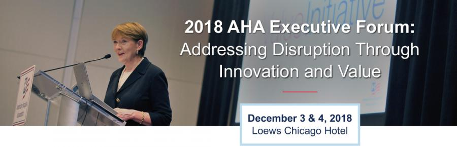 AHA Executive Forum banner
