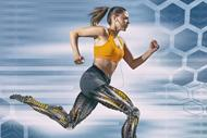 Will Wellness Be King in the New Health Care Economy? A woman with bionic legs running.